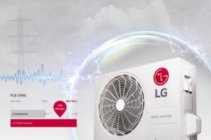 LG DUAL zidne klime inverter klime